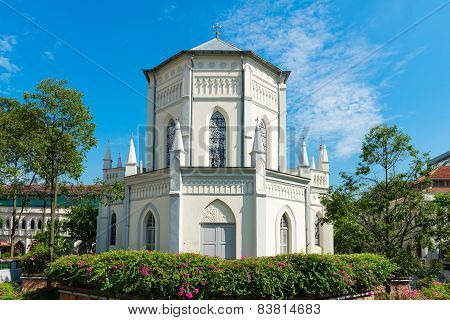 Old Church Building In Neoclassical Style