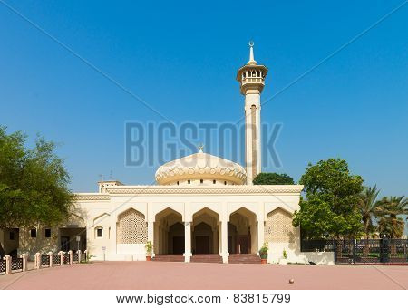 Small Mosque Under Clean Blue Sky