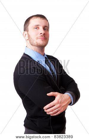 Attractive Man Looking At The Camera