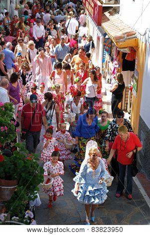 Festival procession, Marbella.