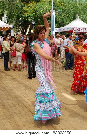 Flamenco dancer, Marbella.
