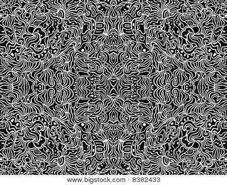 Seamless Abstract Vector Design Background