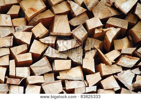 Wood Ready For The Fire