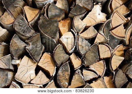 Dry, Wood Fire Wood
