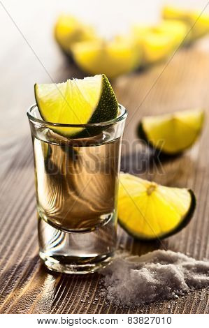 Tequila With Salt And Lime