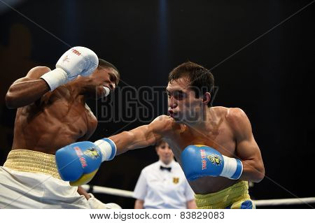 World series of boxing: Ukraine Otamans vs Cuba Domadores