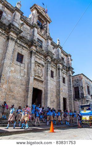 School Excursion In Santo Domingo