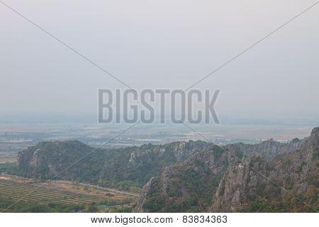 Limestone mountains