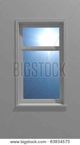 Window And Sun