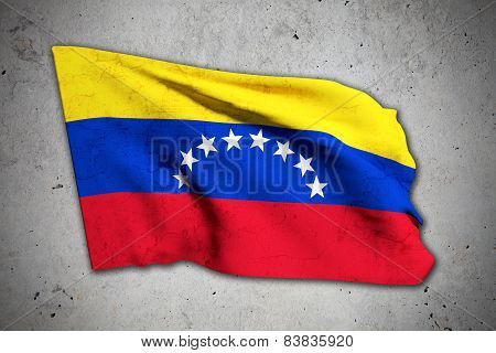 Old Venezuela Flag