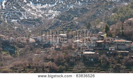 Mountain Village Of Polystypos  , Cyprus