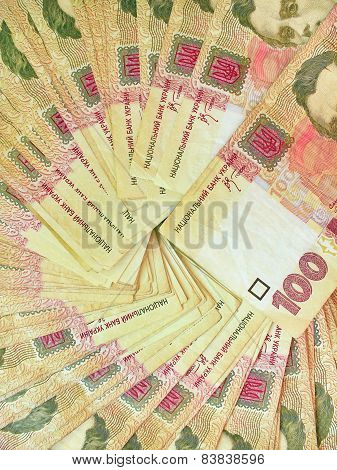 Background Of The Ukrainian Money
