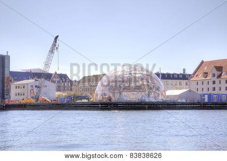 Denmark. Copenhagen. Dome Of Vision
