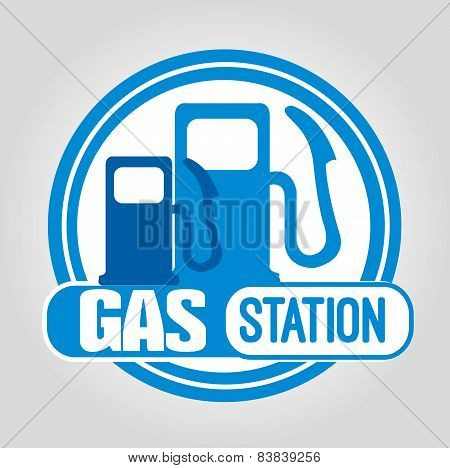 Stamp Gas Station