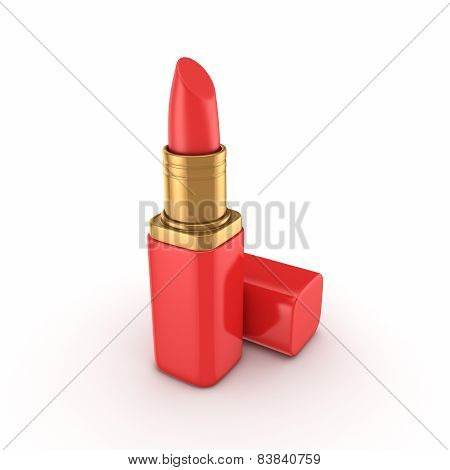 3d rendered lipstick.