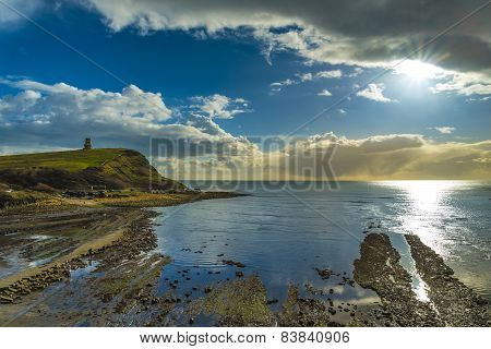 Golden Hour At Kimmeridge On The Dorset Coast