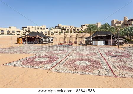 Desert Resort In The Emirate Of Abu Dhabi