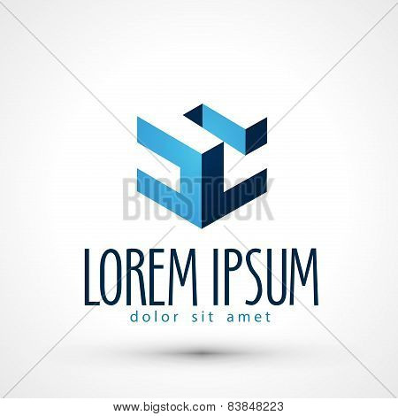 Engineering vector logo design template. busines or company icon.