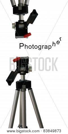 Camera Tripod Isolate