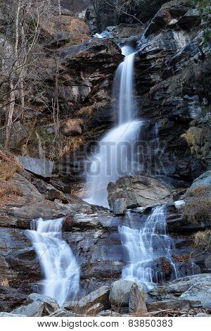Novalesa waterfalls
