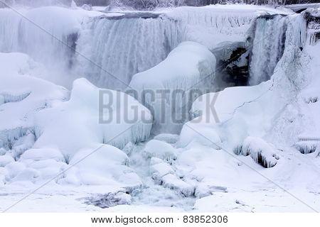 American Falls, Frozen In Winter