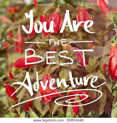 You Are The Best Adventure
