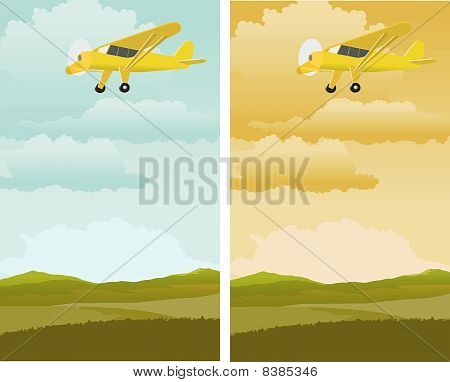 Single Engine Plane