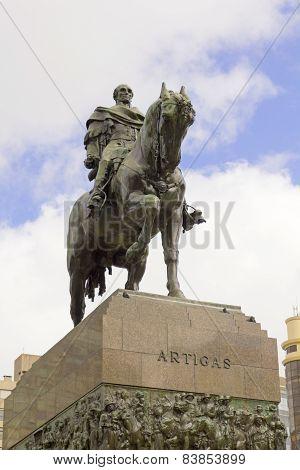 Statue Of General Artigas