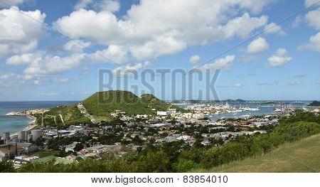 Coastal Scenery From St Maarten