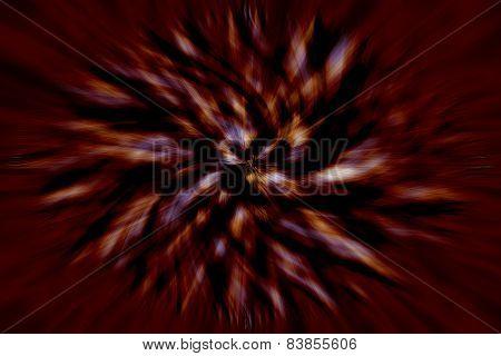 Brown Vortex Blurred Background