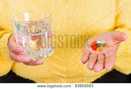 Takes The Medicine