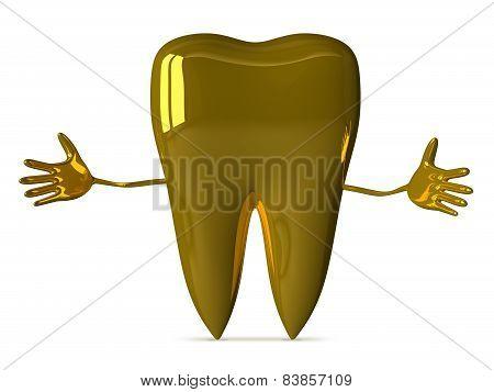 Welcoming Golden Tooth