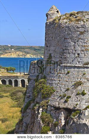 Castle of Methoni at Messinia, Greece