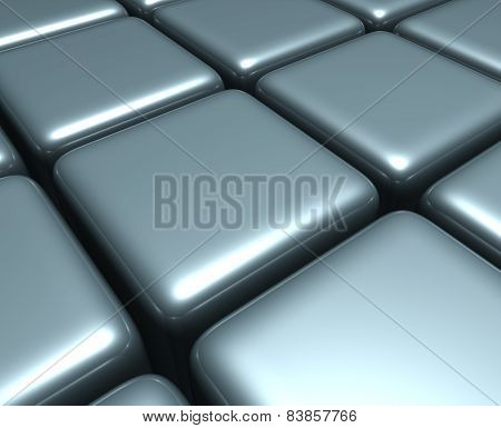 Abstract background. Abstract illustration of 3d cubes