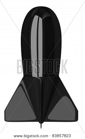 Black Aerial Bomb