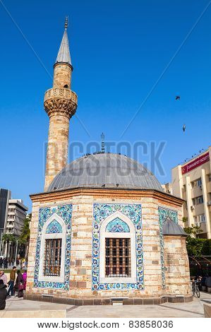Old Mosque On Konak Square, Izmir, Turkey