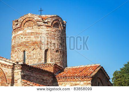 Church Of St. John The Baptist In Old Nesebar, Bulgaria