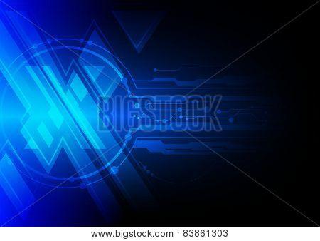 Blue Cross Symbol Background