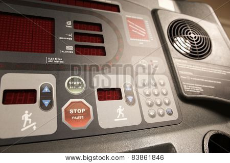 Room with gym equipment in the sport club, sport club gym , Health and recreation room.