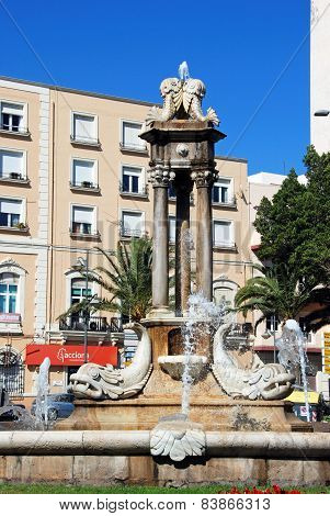 Fish fountain, Almeria.