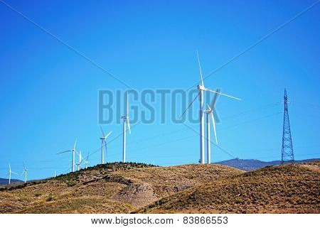 Wind generators, Almeria.