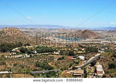 Spanish countryside, Mojacar.