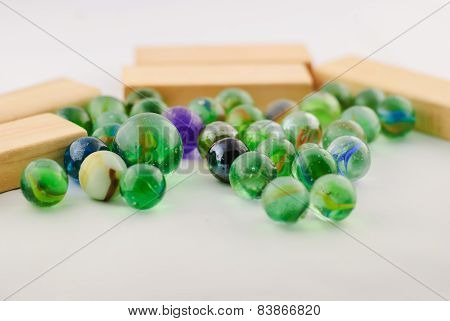Old Toy Marbles