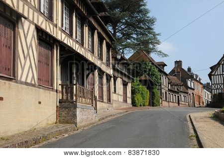 France, The Old Village Of  Lyons La Foret