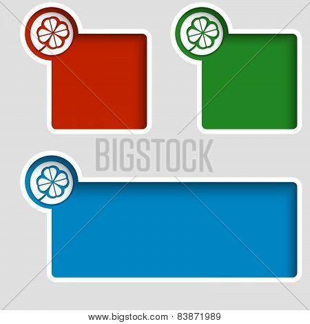 Three Text Boxes