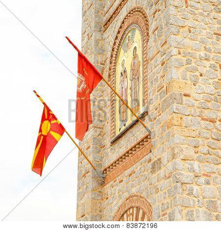 Saint Climent And Panteleimon Church In Ohrid
