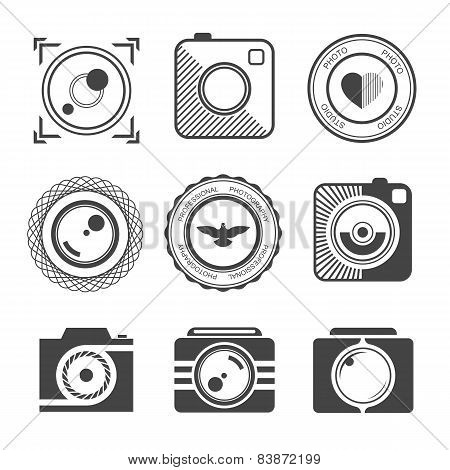 Set Of Vector Badges Photo