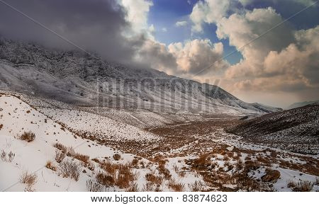 Southern Iran mountains