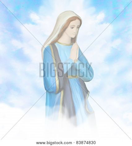 Blessed Mary Portrait