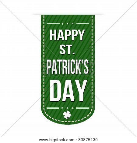 Happy St. Patrick's Day Banner Design
